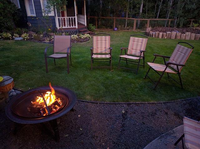 מתקן אש בגינה