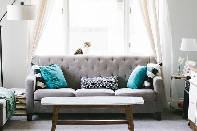 וילון לסלון מודרני בזול