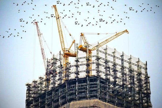 הקמת מבנה תעשיה
